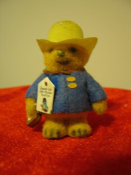"This 3"" Paddington Bear got me through many dentist appointments when I was a child. I would clench it in my fist while I was getting needles."