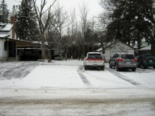Parking Next to House