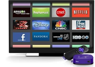 Roku LT Streaming Player Menu