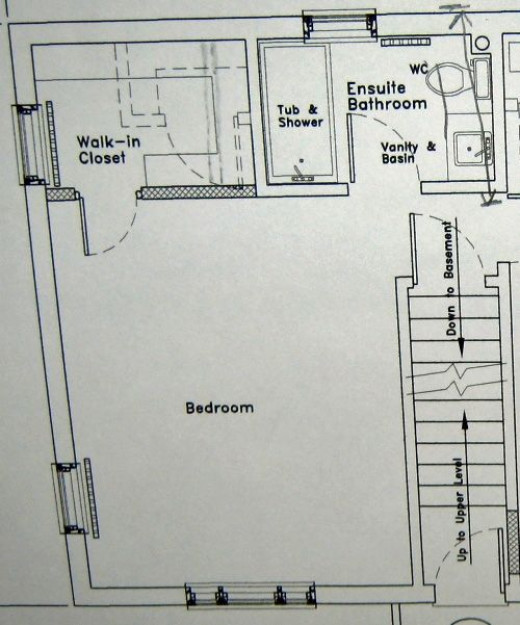 Here are the plans for the bedroom which give you a great view of where the walk in closet is going to be and the layout of the master bathroom.
