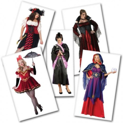 Plus Size Costumes from Costume Craze