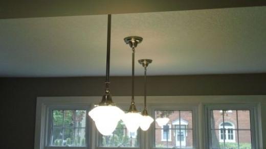 The power of three lighting.