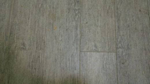 Wood grain tiles.