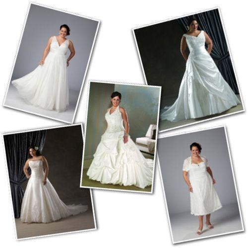 Sydney's Closet Plus Size Bridal Dresses