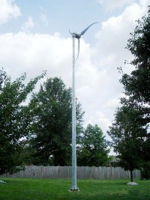 SkyStream 2 a small residential wind turbine