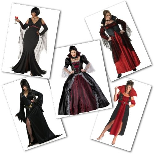 plus size vampire costumes from Buy Costumes