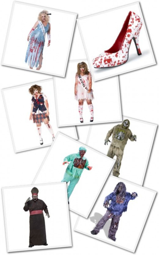 plus size zombie costumes from Buy Costumes