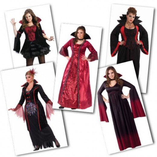 Plus Size Vampire Costumes from Star Costumes