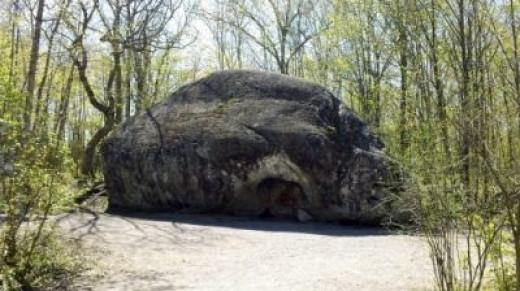 The Boulder in Spring