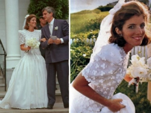Caroline Kennedy Wedding Dress