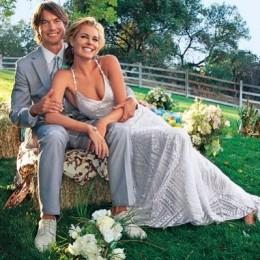 Rebecca Romijn Wedding Dress