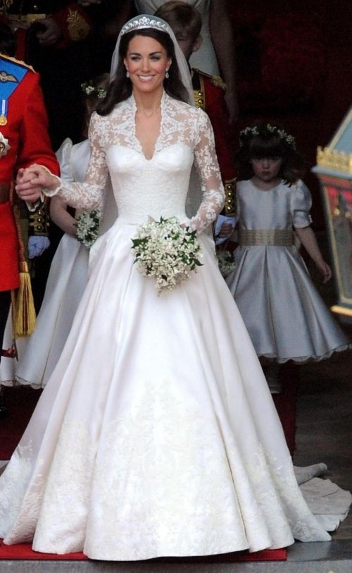 Kate Middleton (Princess Catherine) Wedding Gown