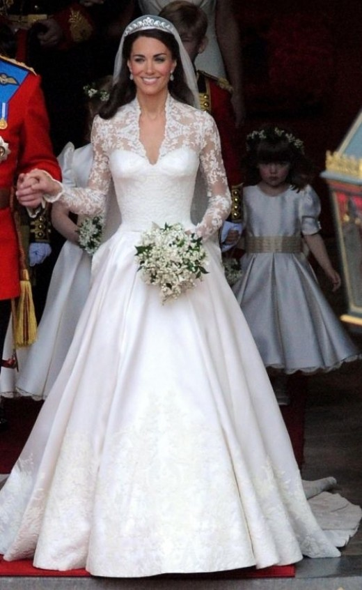 Kate Middleton (Princess Catherine) Wedding Gown