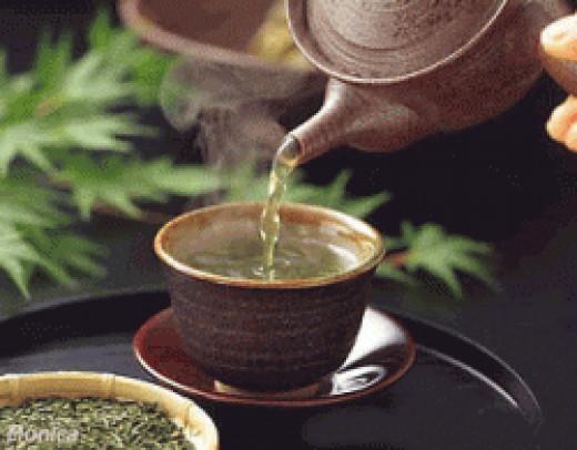 The magic of a Green tea blend
