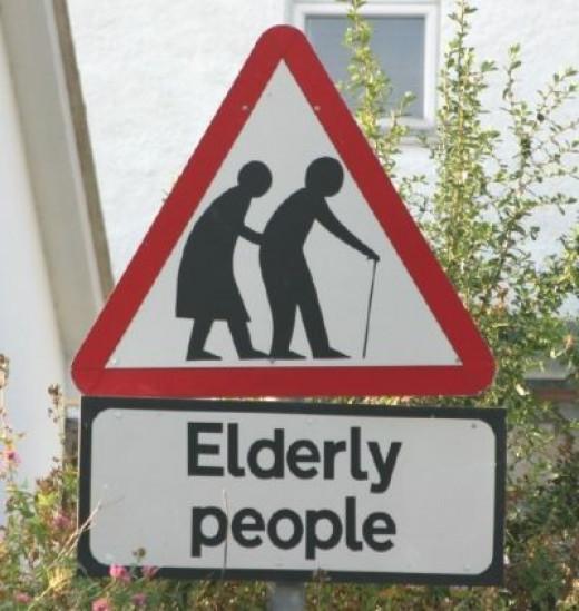 Elderly People Crossing