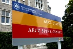 Anglo-European College Of Chiropractic - image used with permission of Richard Gregory Design