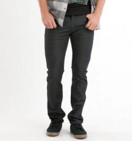 Drakes Skinniest Black Top Jeans