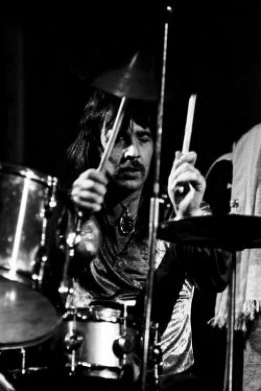 Lee Kerslake, drummer with Uriah Heep