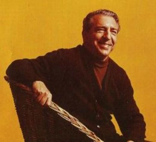 Annunzio Paulo Mantovani - world famous bandleader of The Mantovani Orchestra