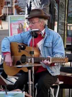 "Don Patridge, the busker who gave us ""Rosie"""
