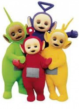 Teletubbies Group Costume