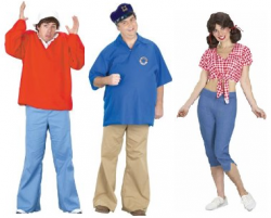 Gilligan's Island Group Costume
