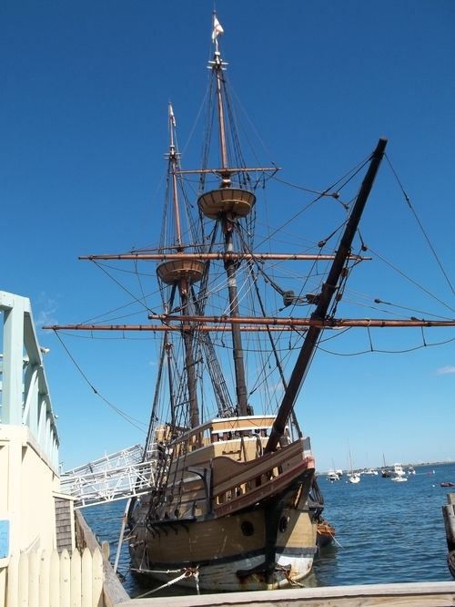 Front View of Mayflower ll
