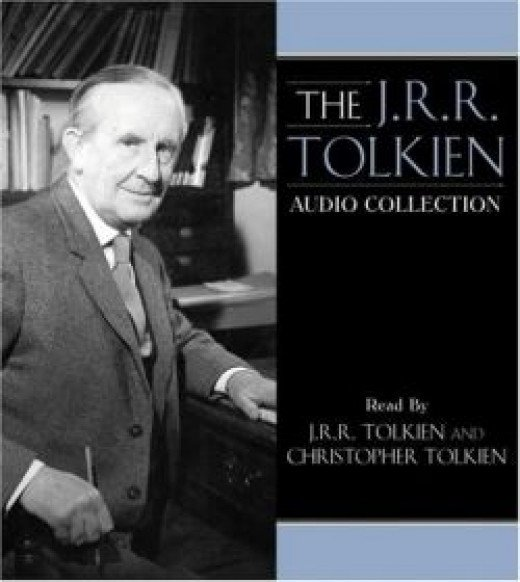 """Cover art for """"J.R.R. Tolkien Audio Collection"""""""