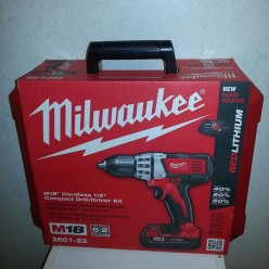 The Milwaukee 2601 - 22 18 - A Cordless Drill Worth The Effort.