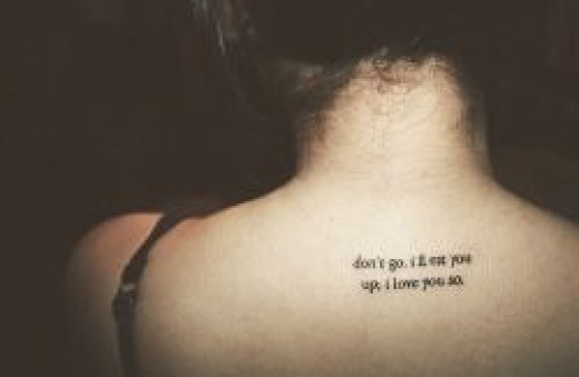 Short Tattoo Quotes About Love