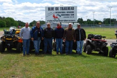 Larry Koch Group of ATV riders.