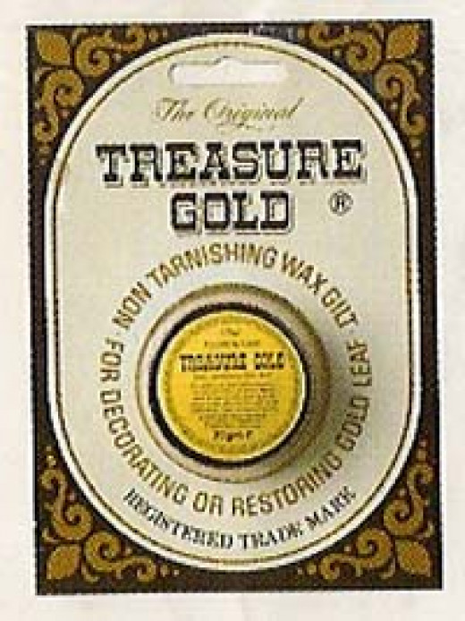 Gold wax gilting