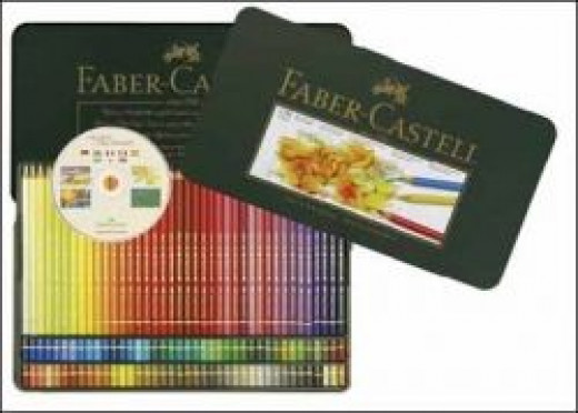Polychromos Artist Colour pencils tin 120 Half Price from Faber Castell