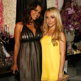 Halle Berry and Hayden Panettiere in frocks from Juicy's Couture Couture line