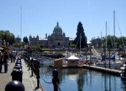Victoria Harbor and BC Legislature
