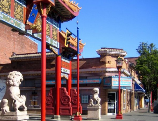 Victoria's Chinatown is the oldest in Canada and the second oldest in North America.