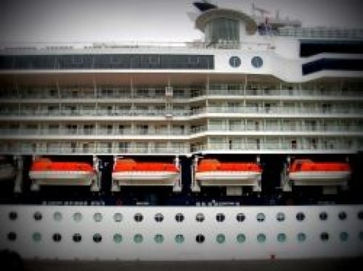 The Celebrity Cruise Lines' Millennium Ship