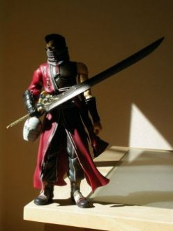 Review: My Auron Play Arts Action Figure (Final Fantasy X)
