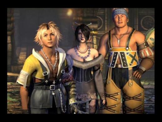 Final Fantasy X Screencap