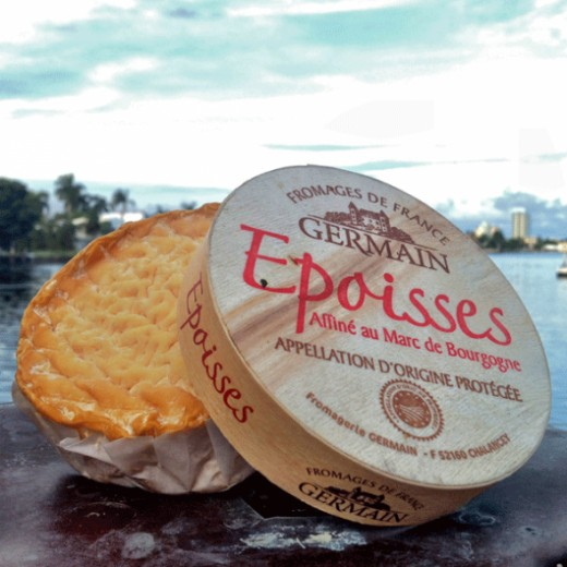 Epoisses is known as 'the king of cheeses'. This is a French cheese and was originally made by monks way back in the sixteenth century. The recipe for making this cheese almost disappeared but luckily a small farm started production of this cheese an