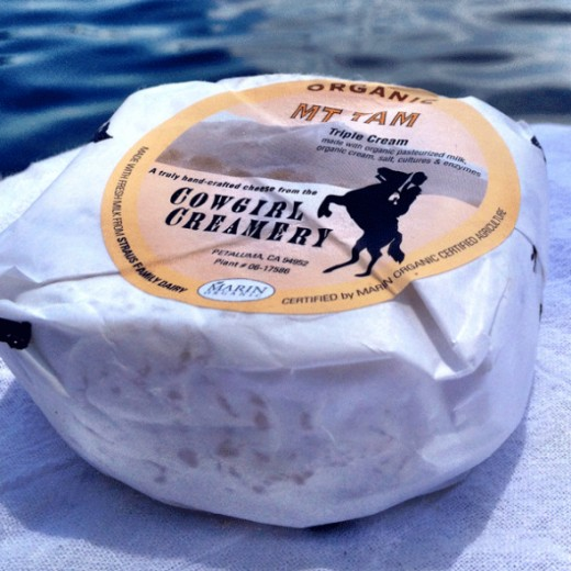 I love Mt Tam and others must agree because this creamy cheese is an award winner. It's made in America using organic milk.