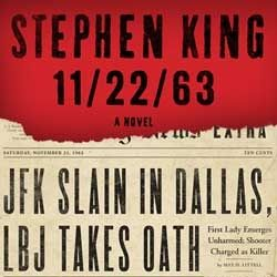 Stephen King: The assassination of President Kennedy.