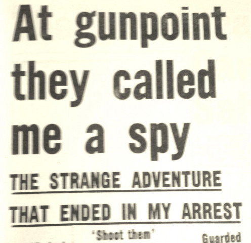 Newspaper cutting from 1963