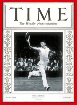 Donald Budge on the cover of Time Magazine, 02 September 1935 on time.com