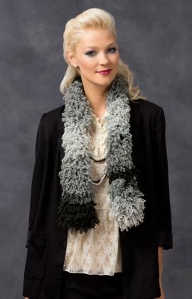 Sizzle Scarf by Red Heart Boutique