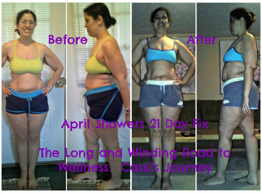21DayFix Before & After
