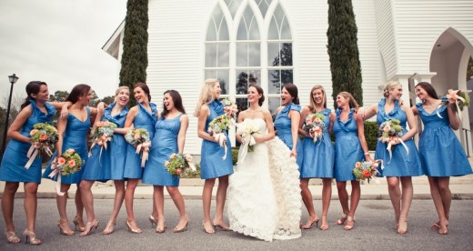 Remember you can have as many bridesmaids as you want!