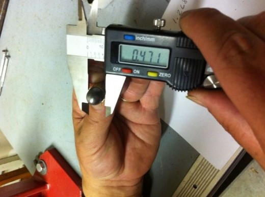 measuring crimp