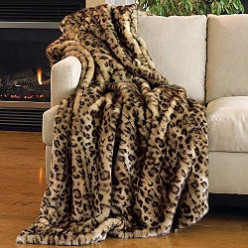 Fabulous Faux Fur Coats, Jackets, Throws and More