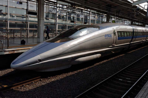 Japanese Shinkansen High Speed Rail